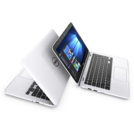 "Dell Inspiron 3162 11.6"", Intel Celeron, 1600МГц, 2Гб RAM, DVD нет, 500Гб, Белый, Wi-Fi, Linux, Bluetooth"