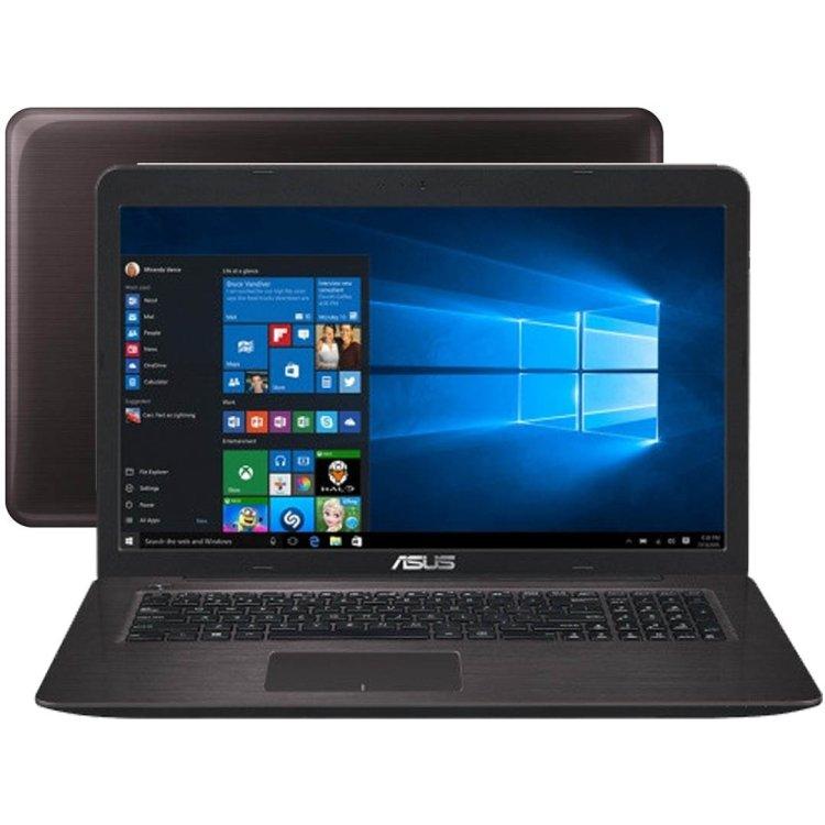 "Asus X756UV-TY179T 17.3"", Intel Core i5, 2300МГц, 8Гб RAM, DVD-RW, 1Тб, Wi-Fi, Windows 10, Bluetooth"