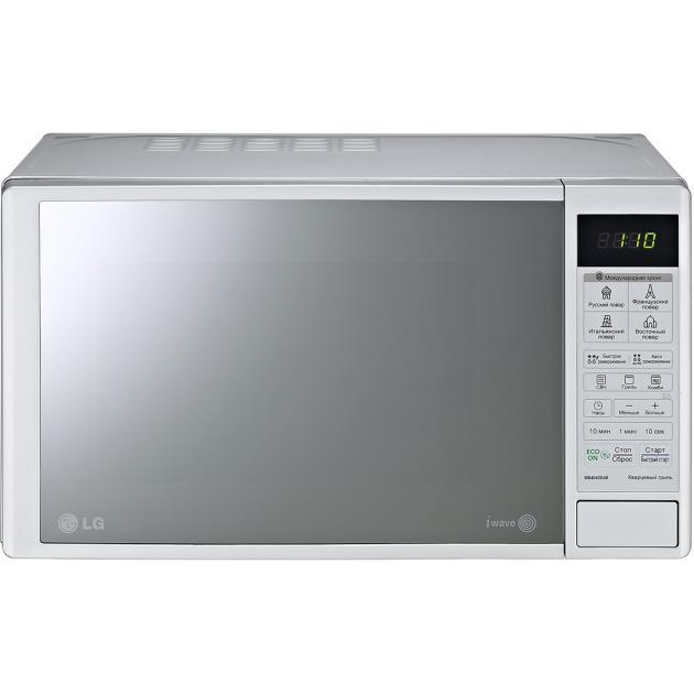 LG MB-4043DAR Серебристый, Гриль, 1000Вт, 20л
