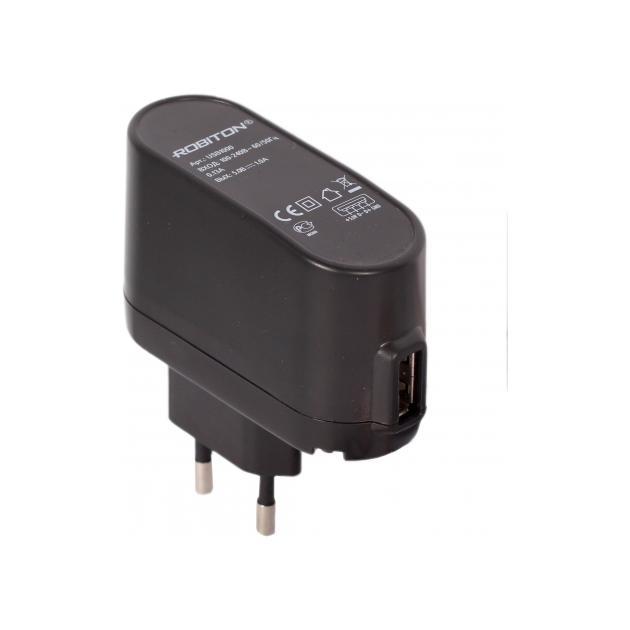 Блок питания c USB разъемом для авто Robiton USB 1000/ Auto ;1000Ма от Байон
