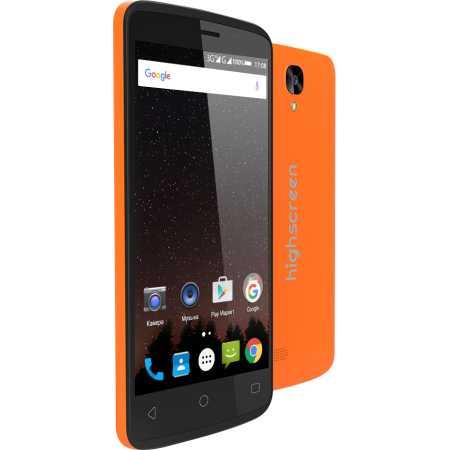 Highscreen Easy F Pro Оранжевый