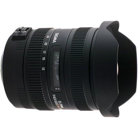 Sigma AF 12-24mm f/4.5-5.6 DG HSM II Nikon F Широкоугольный, Nikon F, Совместимость с полнокадровыми фотоаппаратами