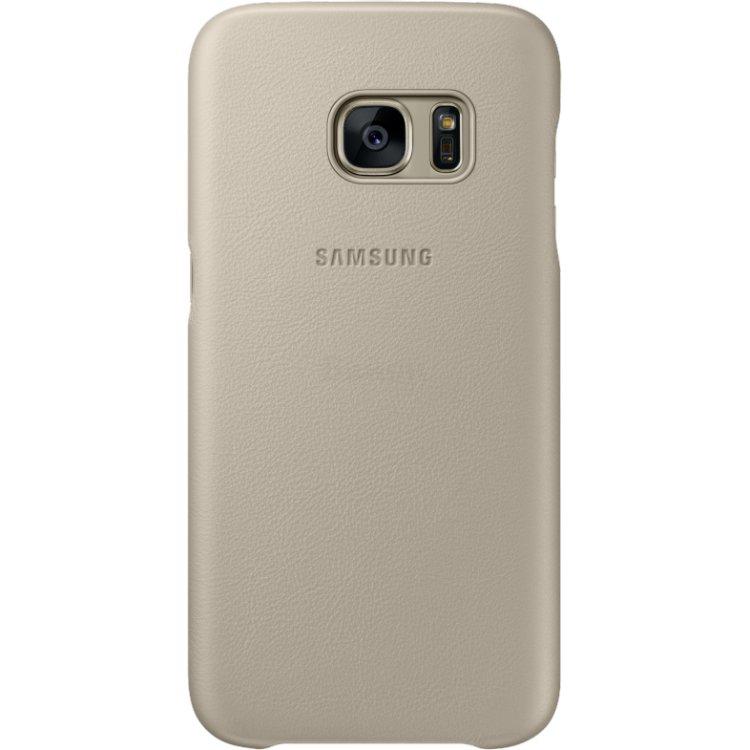 Купить Samsung Leather Cover для Samsung Galaxy S7 в интернет магазине бытовой техники и электроники