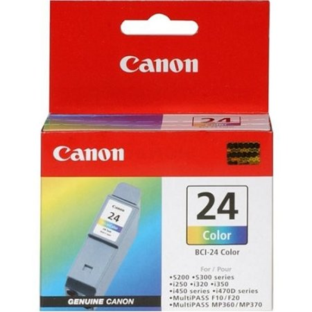 Canon BCI-24 Color Картридж струйный, Не указан, Пурпурный, Голубой, Желтый, Стандартная