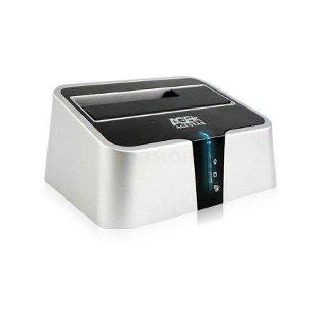 Док-станция для HDD AgeStar 3CBT2 SATA II пластик серебристый 1