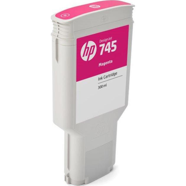 HP 745 Пурпурный, Картридж струйный, Повышенная, нет