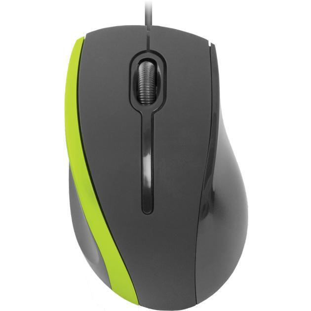 Defender MM-340 Черный/зеленый