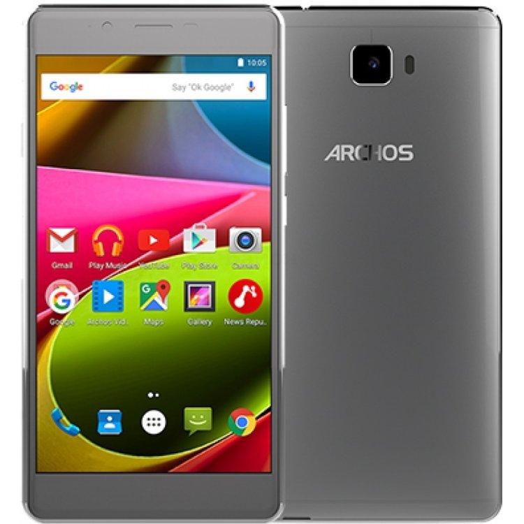 Archos 55 Cobalt Plus 16Гб, Серый, Dual SIM, 4G (LTE), 3G