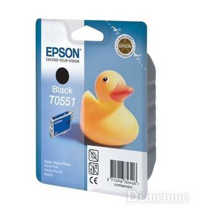 Epson C13T05514010 Картридж лазерный, Черный, Стандартная, нет