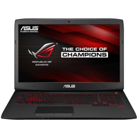 "Asus ROG G751JL-T7062T 17.3"", Intel Core i7, 2300МГц, 16Гб RAM, DVD-RW, 2Тб, Черный, Wi-Fi, Windows 10, Bluetooth"
