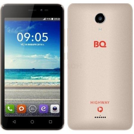 BQ BQS-5025 HighWay Золотой