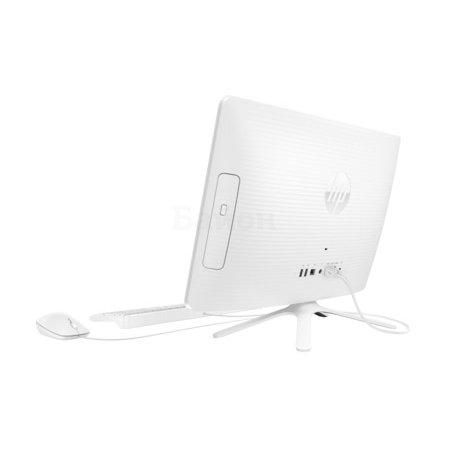 HP 22-b060ur нет, Белый, 4Гб, 512Гб, Windows, AMD A6