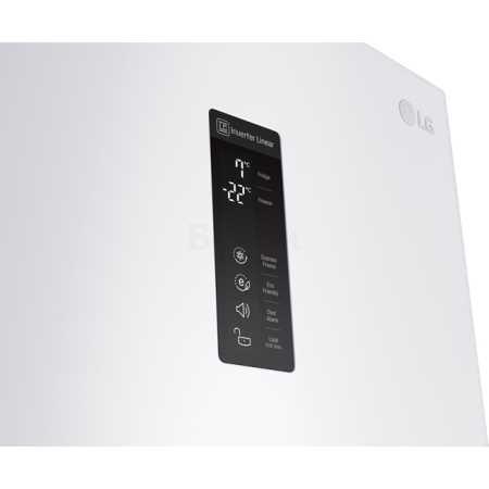 LG GW-B489SQFZ Белый, 360л