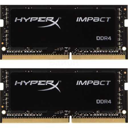Kingston HX421S13IBK2/16 DDR4, 16Гб, PC-17000, 2133, SO-DIMM