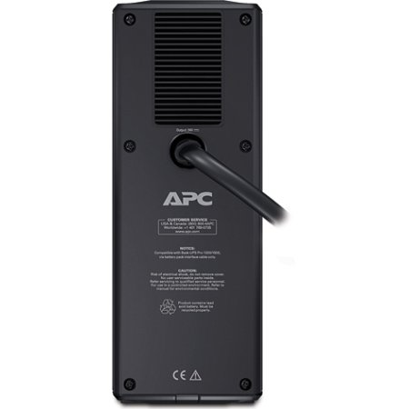 APC by Schneider Electric APC External Battery Pack for Back-UPS RS/XS 1500VA, 24V, 2 year warranty(BR24BPG)