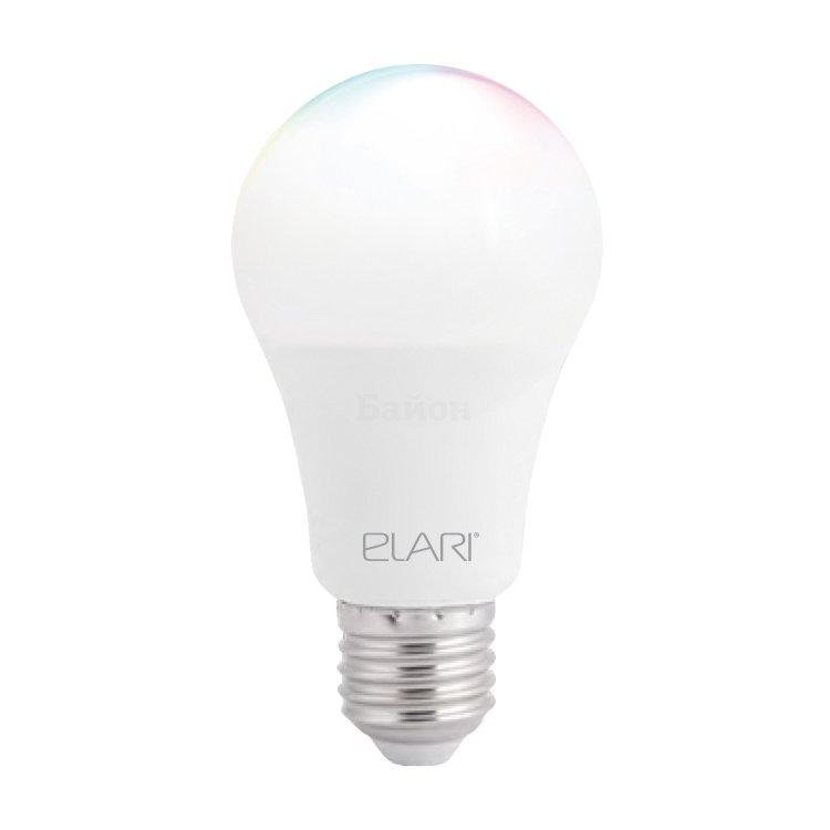 Умная многоцветная светодиодная лампа Elari Smart Bulb RGB