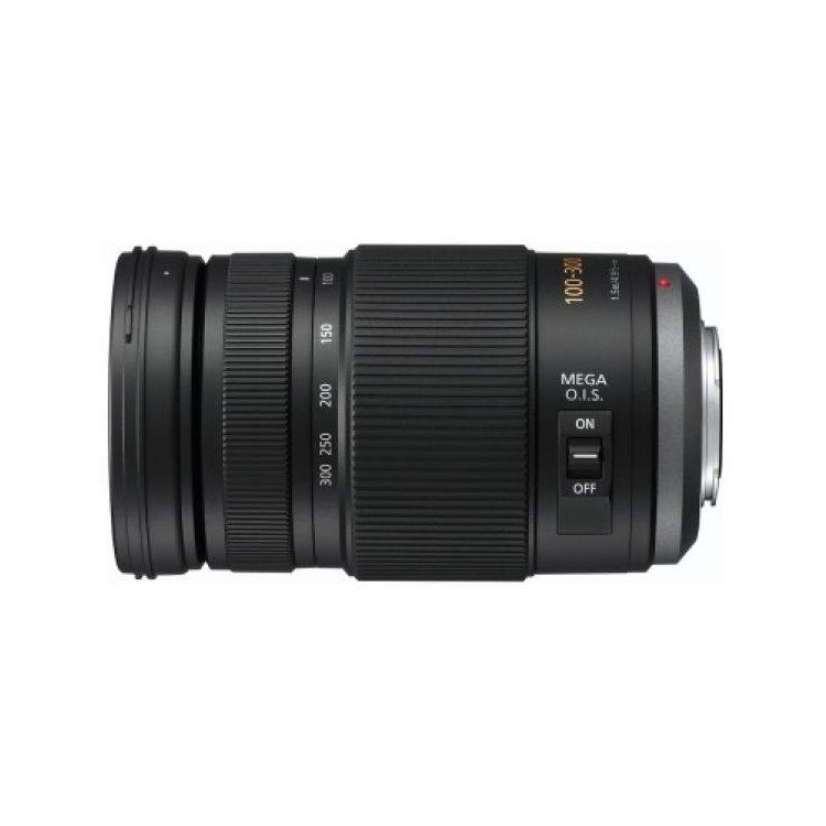Panasonic 100-300mm f/4-5.6 Aspherical O.I.S. H-FS100300E Телеобъектив, Micro 4/3, Совместимость с полнокадровыми фотоаппаратами