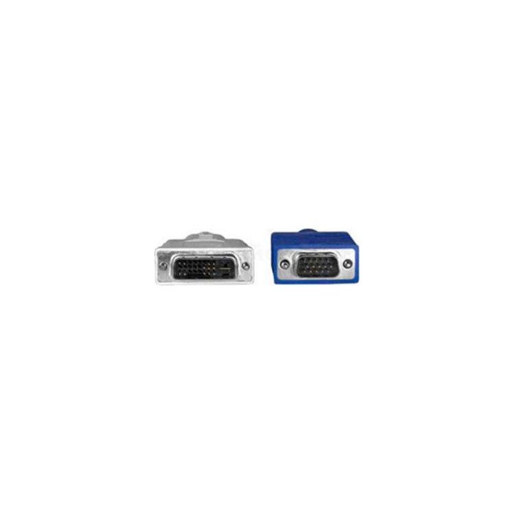 Купить Кабель Hama H-45075 -адаптер VGA-DVI аналоговый (m-m) 1.8 м High Quality серый в интернет магазине бытовой техники и электроники