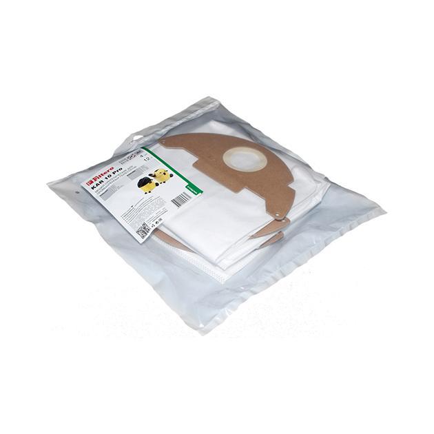 Пылесборники Filtero KAR 10 (4) Pro для: KARCHER 2501/2601/3001/A2120/NT181 Pro/SE2001/SE3001/SE5.100/SE 6.100