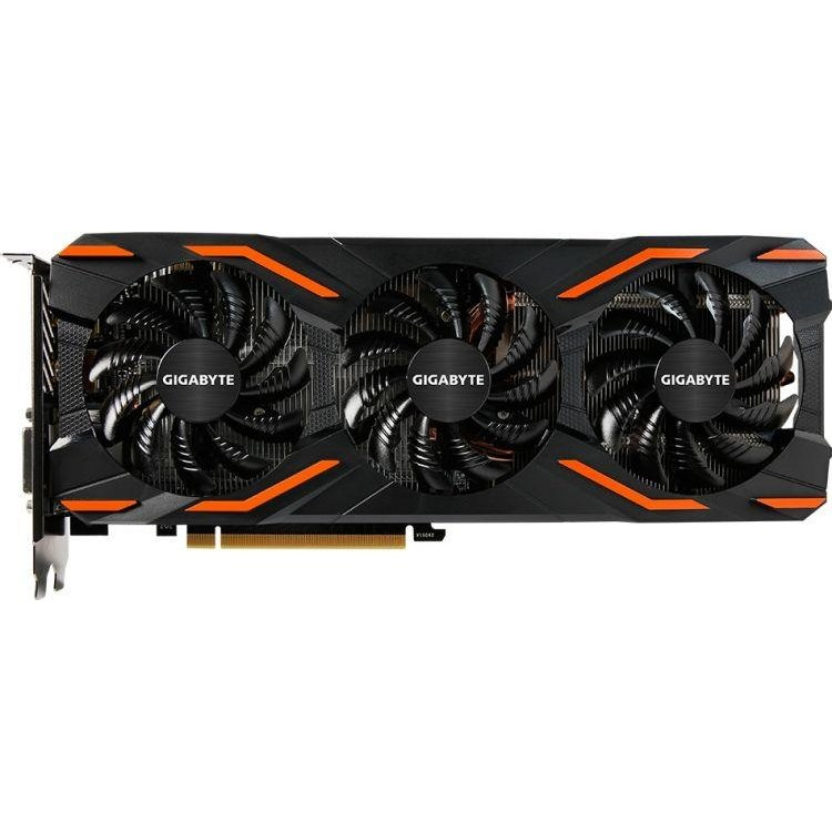 Gigabyte NVIDIA GeForce GTX 1000 Series 8192Мб, GDDR5, OEM