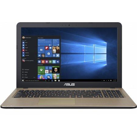 """Asus VivoBook X540SC-XX040T 15.6"""", Intel Pentium, 1600МГц, 4Гб RAM, DVD-RW, 500Гб, Коричневый, Wi-Fi, Windows 10 Pro, Windows 10, Bluetooth"""