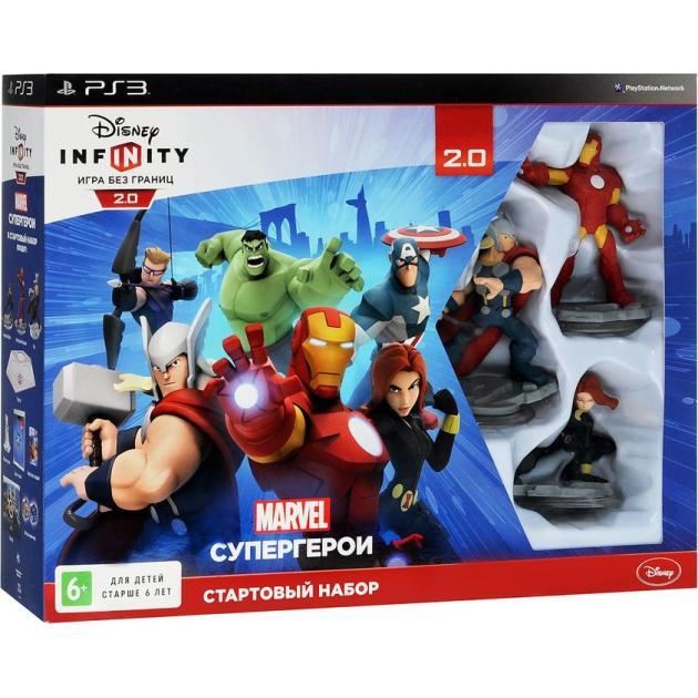 Disney. Infinity 2.0. Стартовый набор Русский язык, Sony PlayStation 4, приключения Sony PlayStation 3