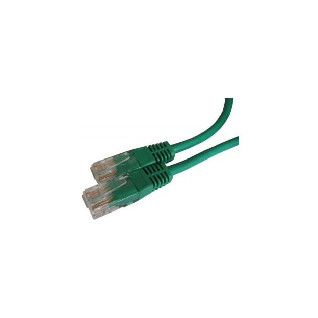 коммутационный-шнур-кат-5e-uutp-rj-45-pvc-цвет-зеленый-10м