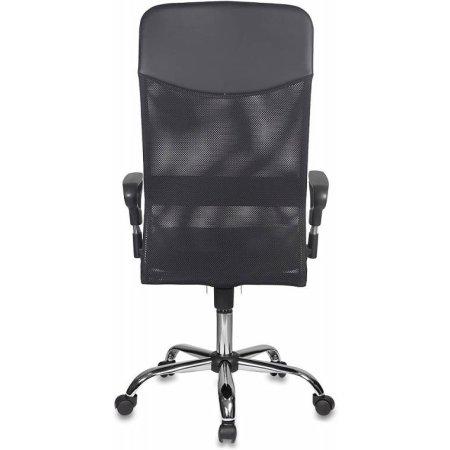 Кресло руководителя Бюрократ CH-600/OR-16 спинка сетка черный сиденье черный Or-16 искусственная кожа крестовина хром