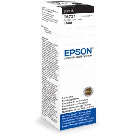 Epson T6736 Черный, Картридж струйный, Стандартная, нет