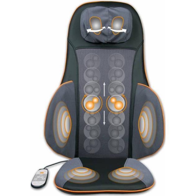 Массажная накидка Medisana MC 825 40Вт черный/серый