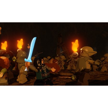 LEGO Хоббит Sony PlayStation 3, приключения