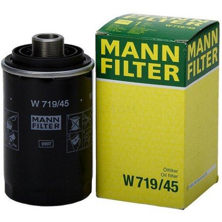 Фильтр автомобильный масляный MANN-FILTER W 719/45