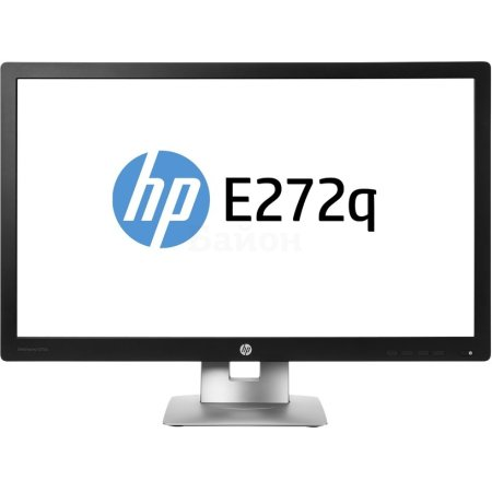 "HP EliteDisplay E272q 27"", Черный, HDMI, Full HD"