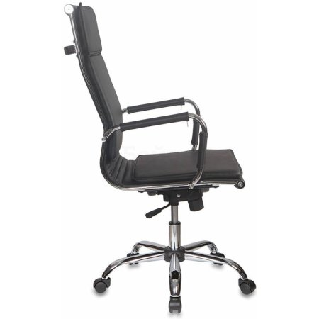 Кресло руководителя Бюрократ CH-993/black черный искусственная кожа крестовина хромированная
