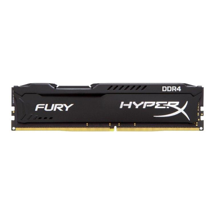Kingston HyperX Fury HX424C15FB/4 DDR4, 4GB, PC4-19200, 2400, Черный