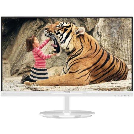 "Philips 234E5QHAW 23"", Белый, HDMI, Full HD"