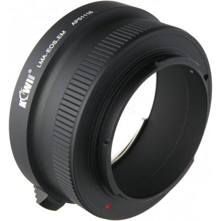 Переходное кольцо  KIWIFOTOS LMA-EOS_EM (Canon EF-Sony E-Mount NEX)