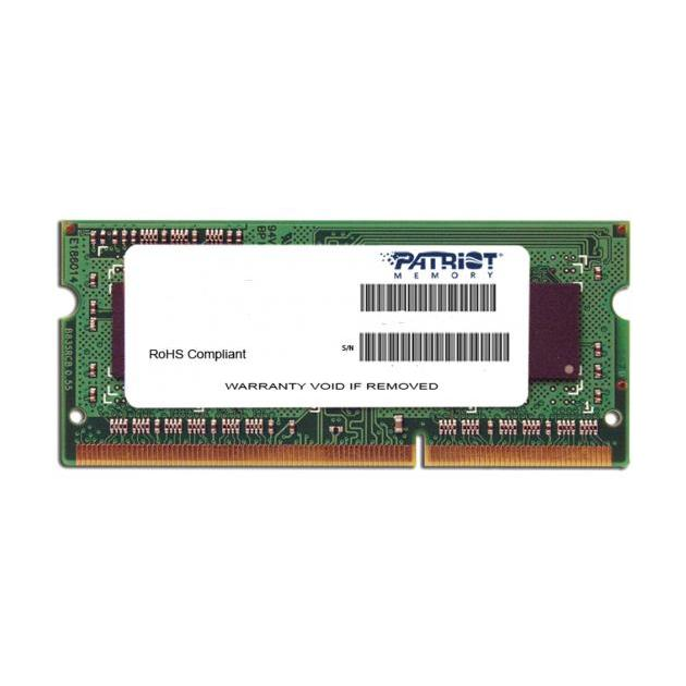 Patriot PSD32G1600L2S DDR3L, 2Гб, PC3-12800, 1600, SO-DIMM