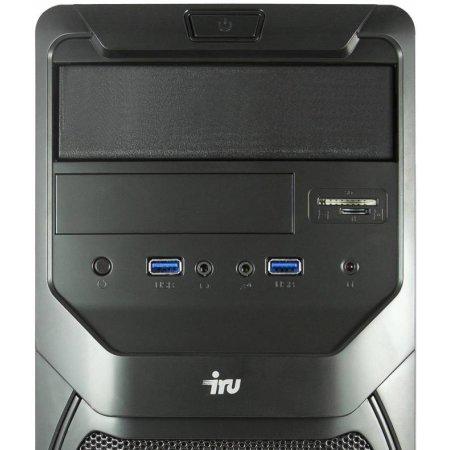 IRU Office 311 Intel Core i3 4170, 3700МГц, 4Гб, 1024Гб, Win 7 Professional, CR, Черный