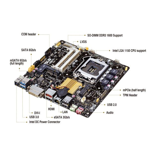 ASUS H81T mini iTX от Байон