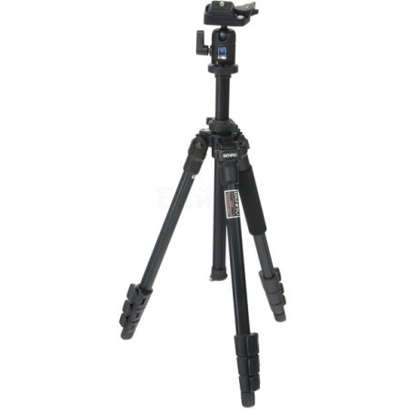 Benro A250FBH00 Черный, Для видеокамер, Трипод - напольный (тренога)