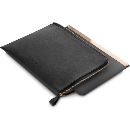 """HP Spectre Leather Sleeve 13.3"""", Черный, Натуральная кожа"""