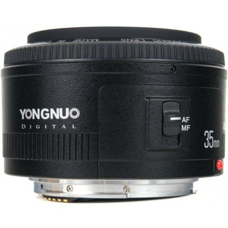 YongNuo AF 35mm f/2 Широкоугольный, Canon EF, Совместимость с полнокадровыми фотоаппаратами