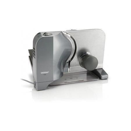 Ломтерезка Zelmer ZFS1005XRU 200Вт (нарезка до 15мм) серебристый