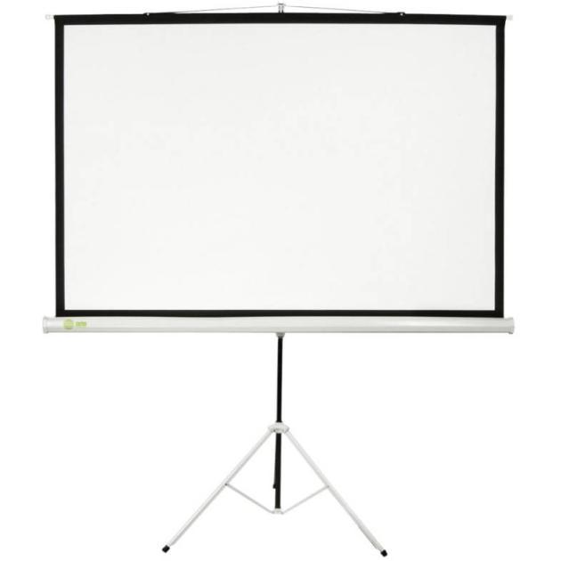 Экран Cactus 180x180см Triscreen CS-PST-180x180 1:1 напольный рулонный белый