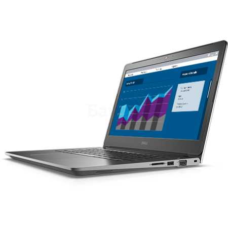 "Dell Vostro 5468-2822 14"", Intel Core i5, 3100МГц, 4Гб RAM, DVD нет, 500Гб, Синий, Wi-Fi, Windows 10, Bluetooth"
