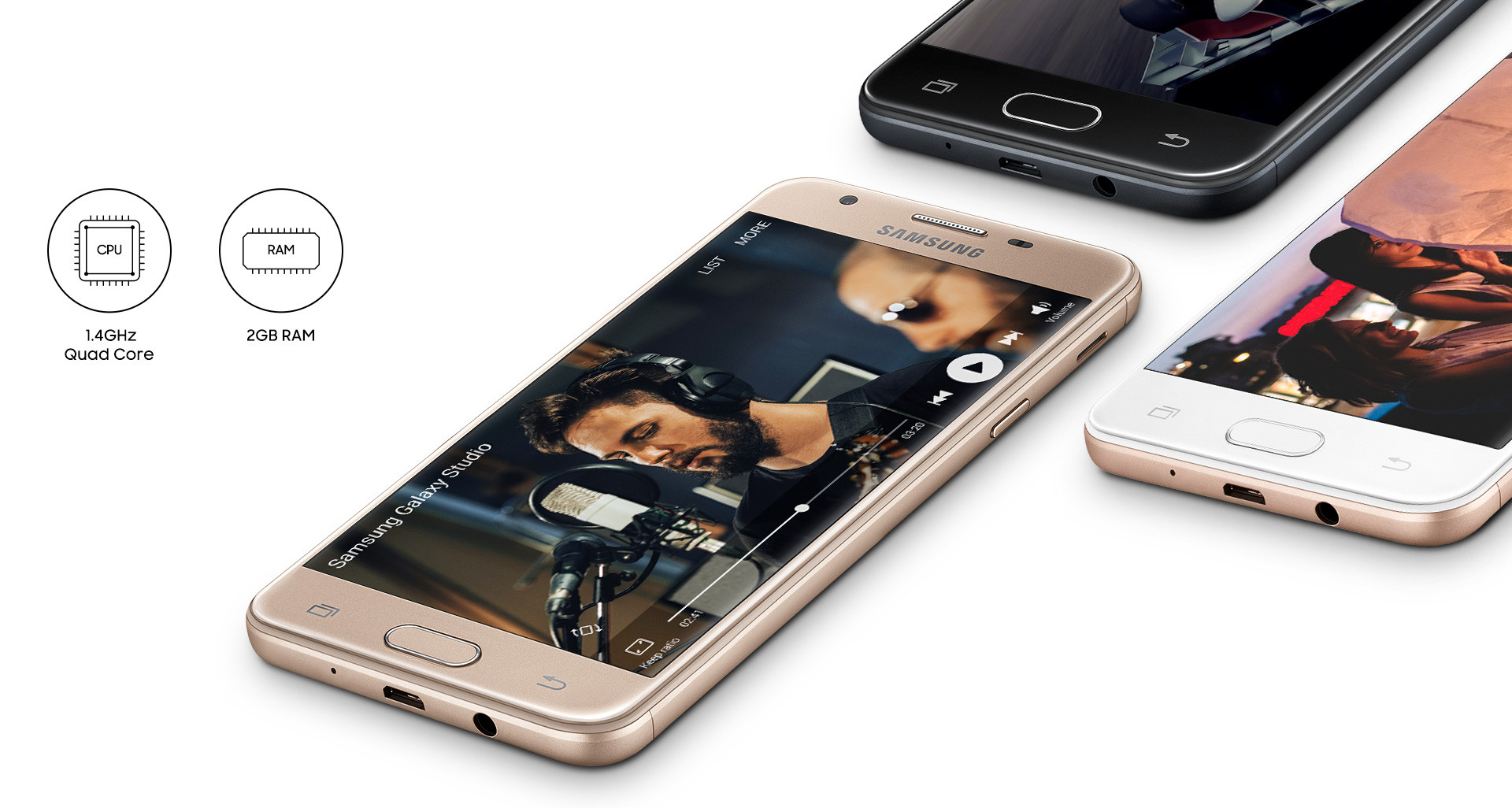 Samsung galaxy j5 prime with fast processor
